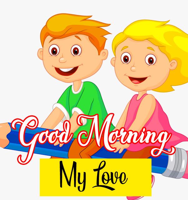 Cartoon Good Morning Images 2