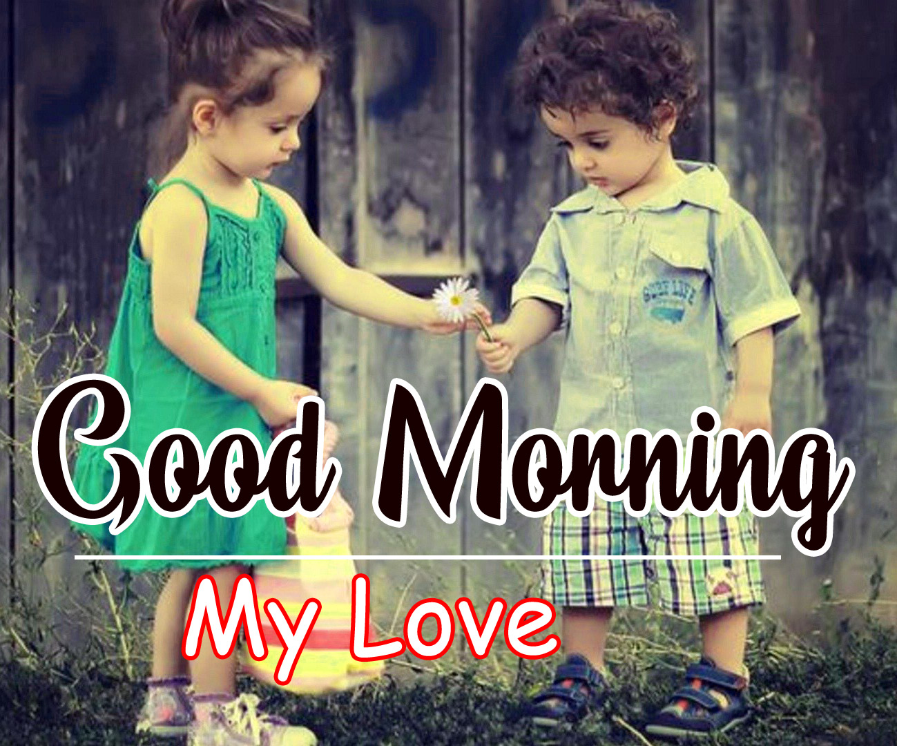 Cute good morning Wallpaper Download