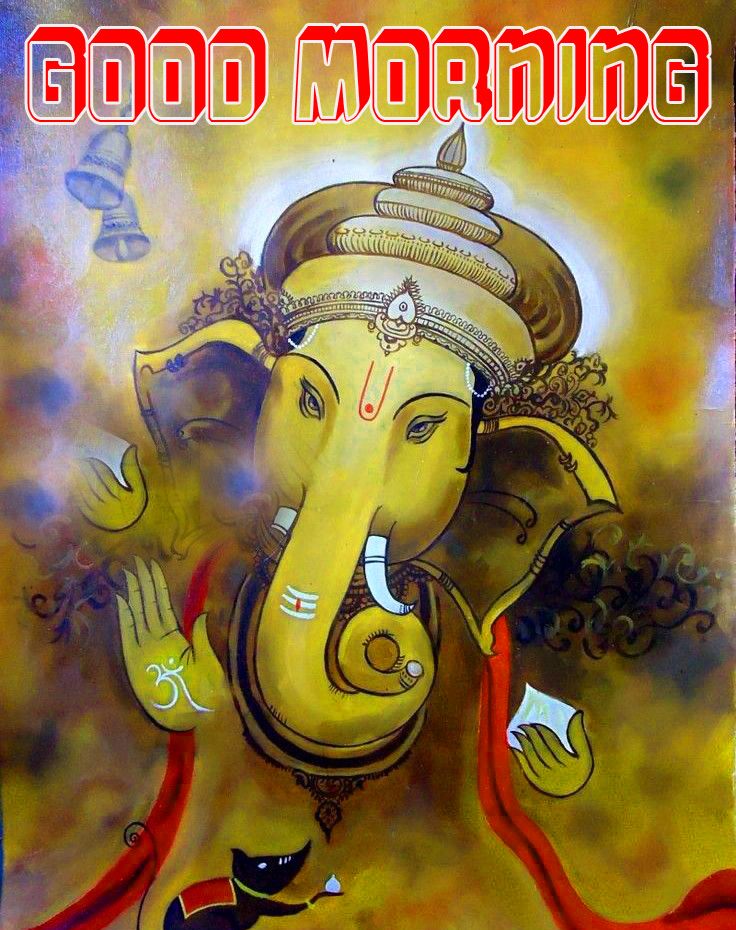 Ganesha good morning