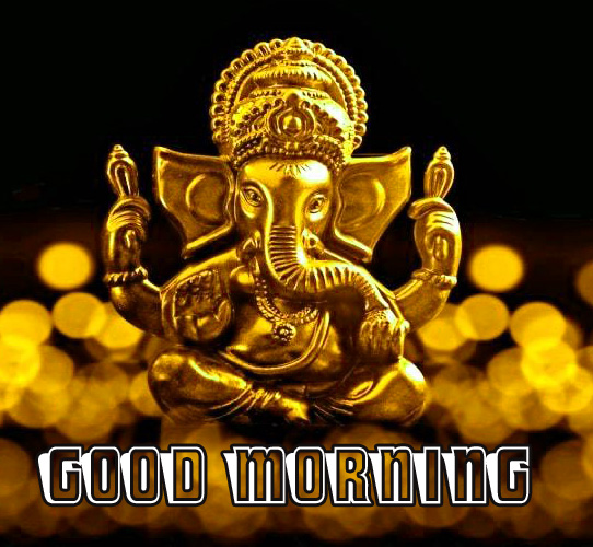Ganesha good morning Pics HD Download