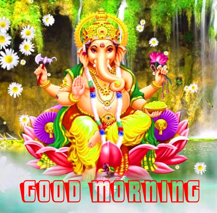 Ganesha good morning Images for Whatsapp