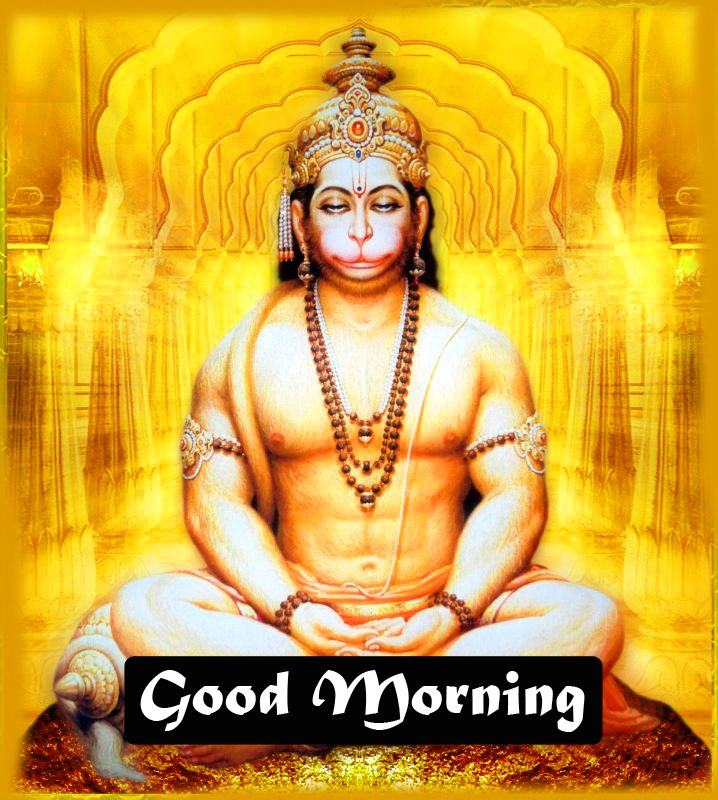 god images hanuman good Morning Pics Wallpaper Download