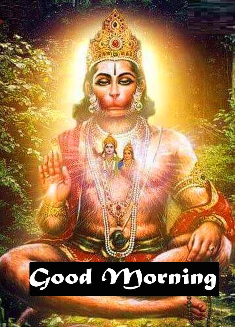 god images hanuman good Morning Pics Free Download