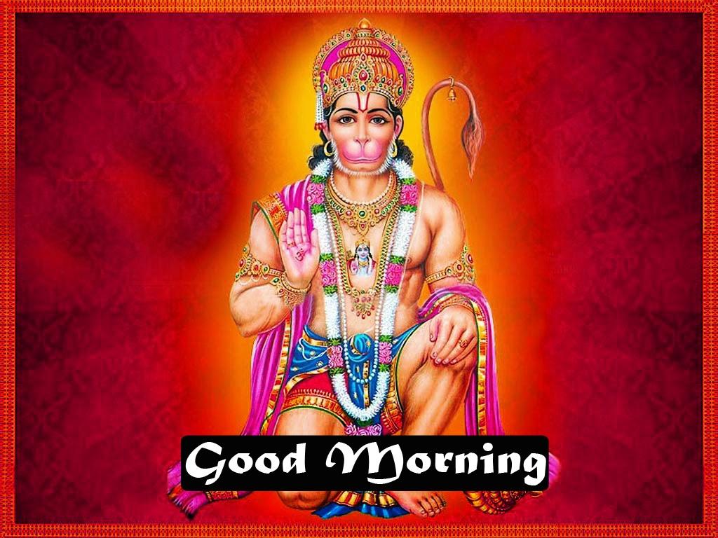 god images hanuman good Morning Wallpaper Download