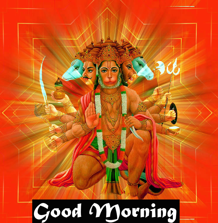 god images hanuman good Morning Photo for Facebook