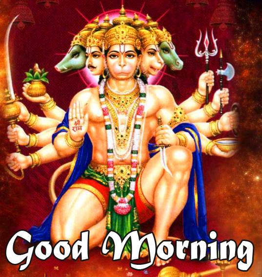god images hanuman good Morning Images Download