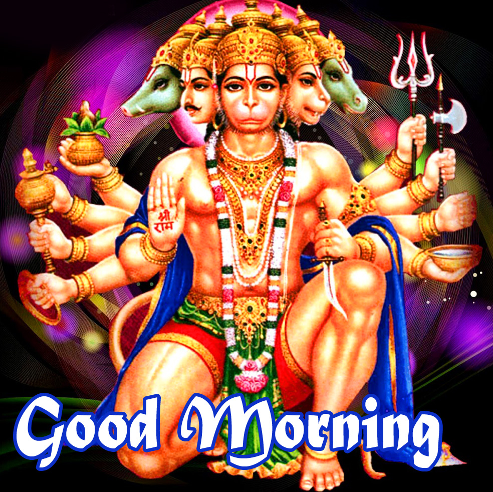 god images hanuman good Morning Pics Free HD