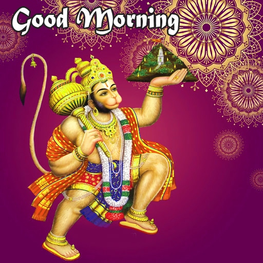 god images hanuman good Morning Wallpaper Free Download