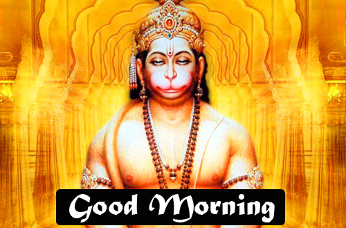 god images hanuman good Morning Photo for Whatsapp