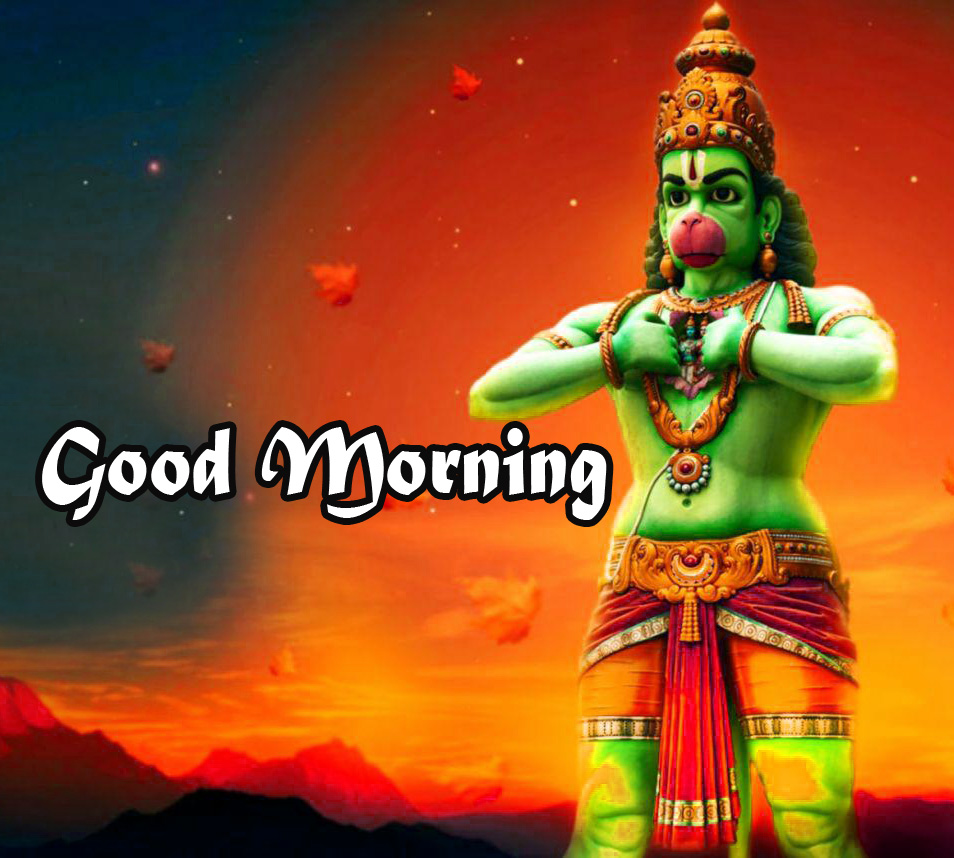 god images hanuman good Morning Pics Free HD