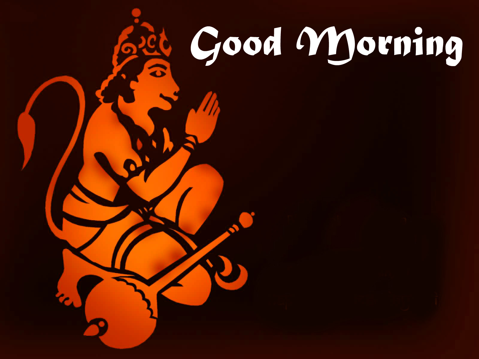 god images hanuman good Morning Images Free