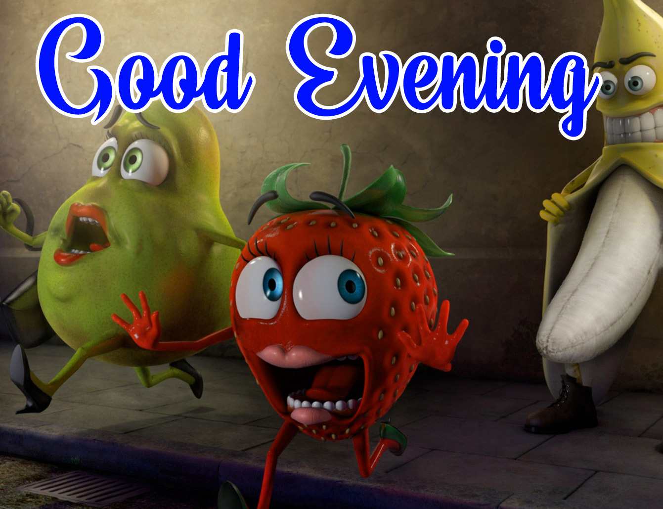 funny good evening wallpaper download