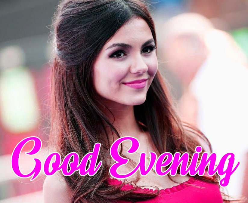 good Evening Images for girls 11
