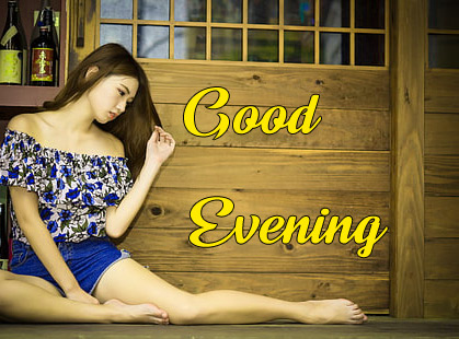good Evening Images for girls 14