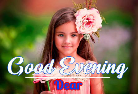 good Evening Images for girls 19