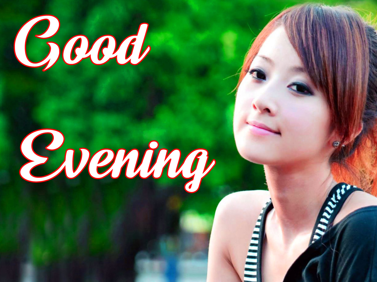 good Evening Images for girls 20