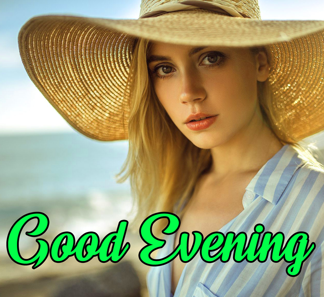 good Evening Images for girls 4