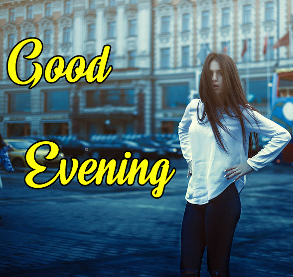 good Evening Images for girls 6