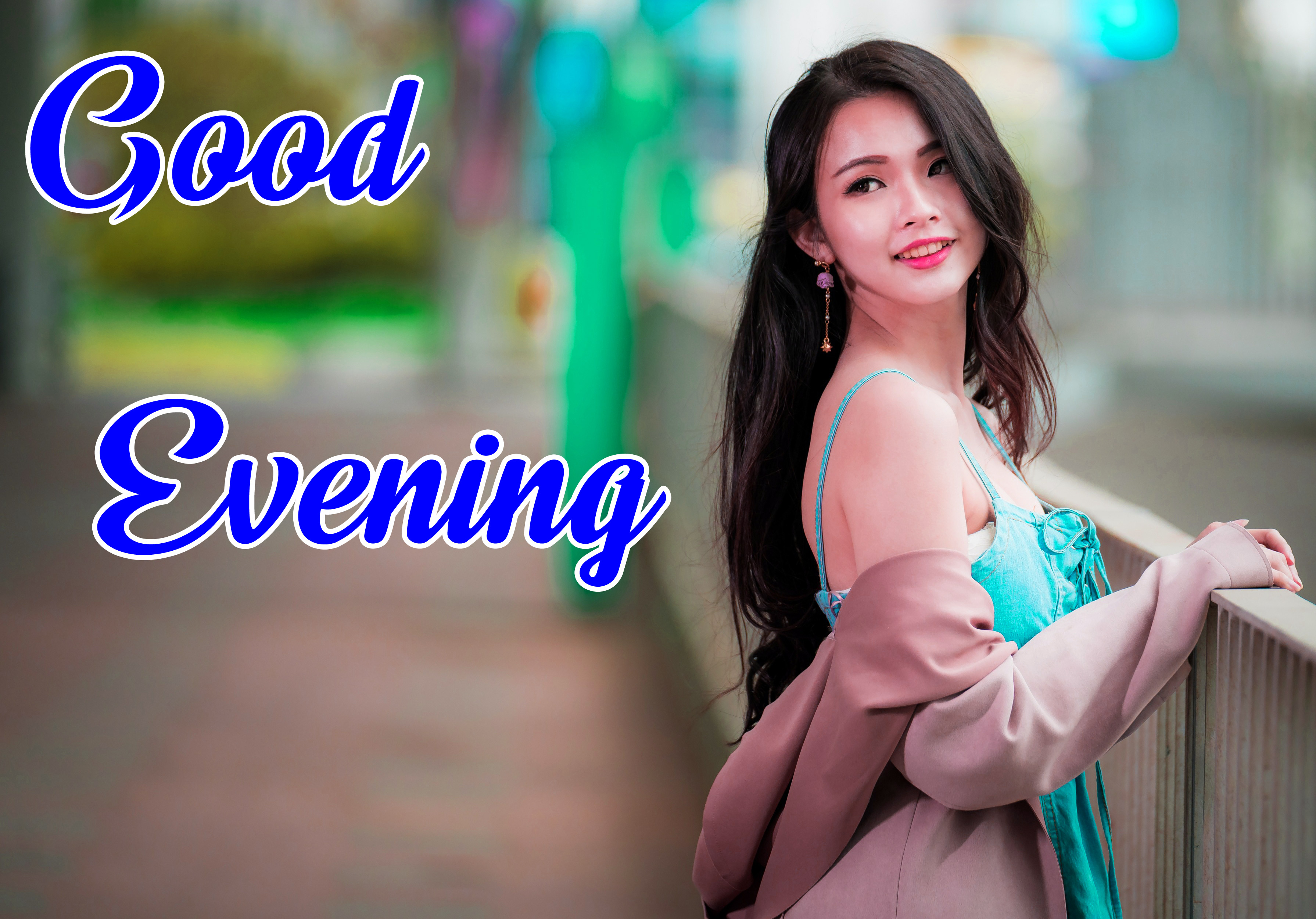 good Evening Images for girls 7