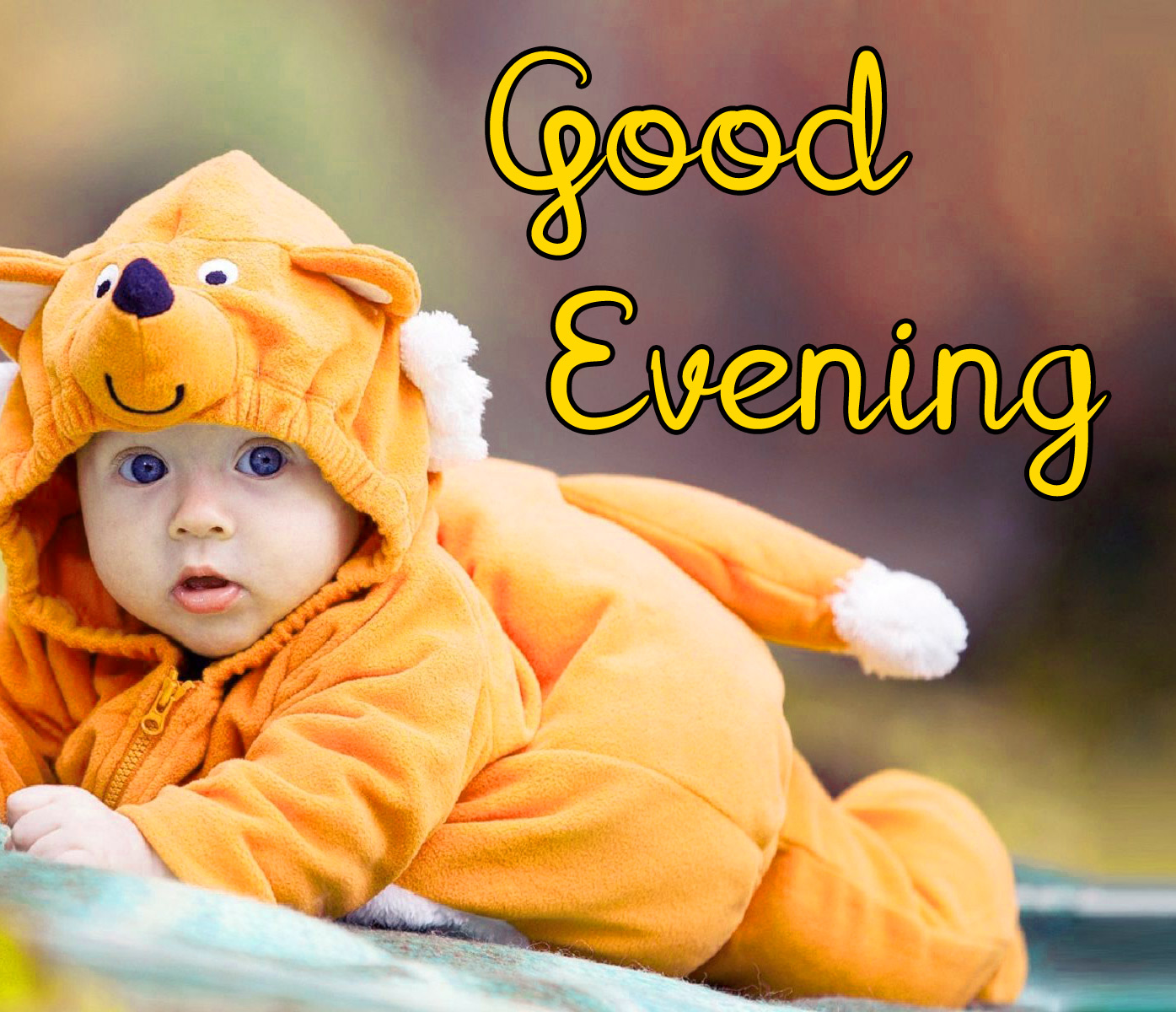 good evening images with cute baby 1