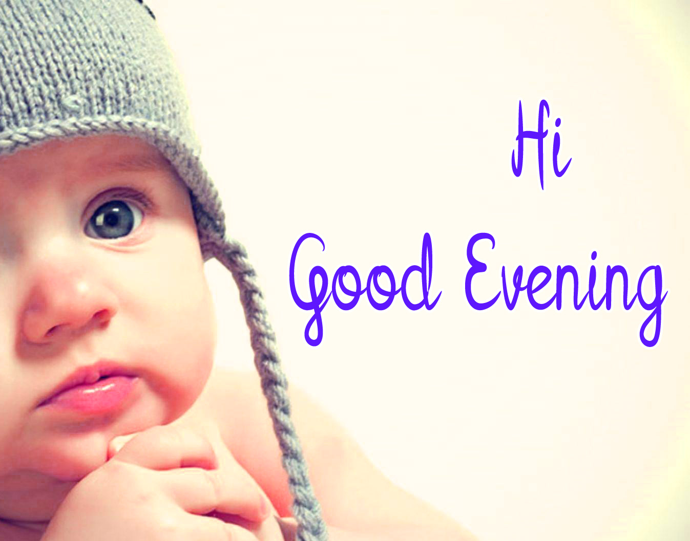good evening images with cute baby 10
