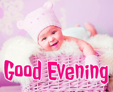 good evening images with cute baby 12