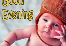 good evening images with cute baby 19