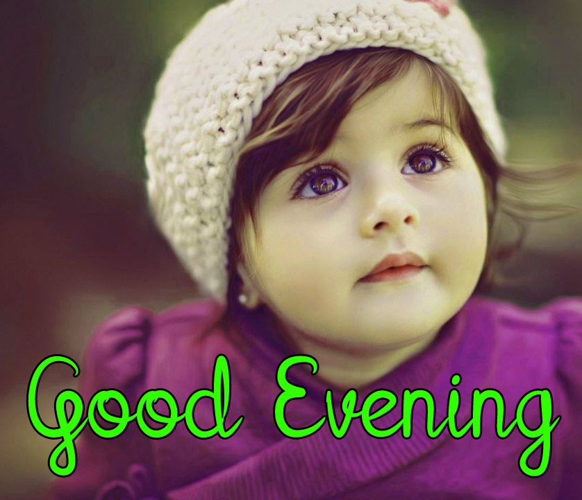 good evening images with cute baby 21