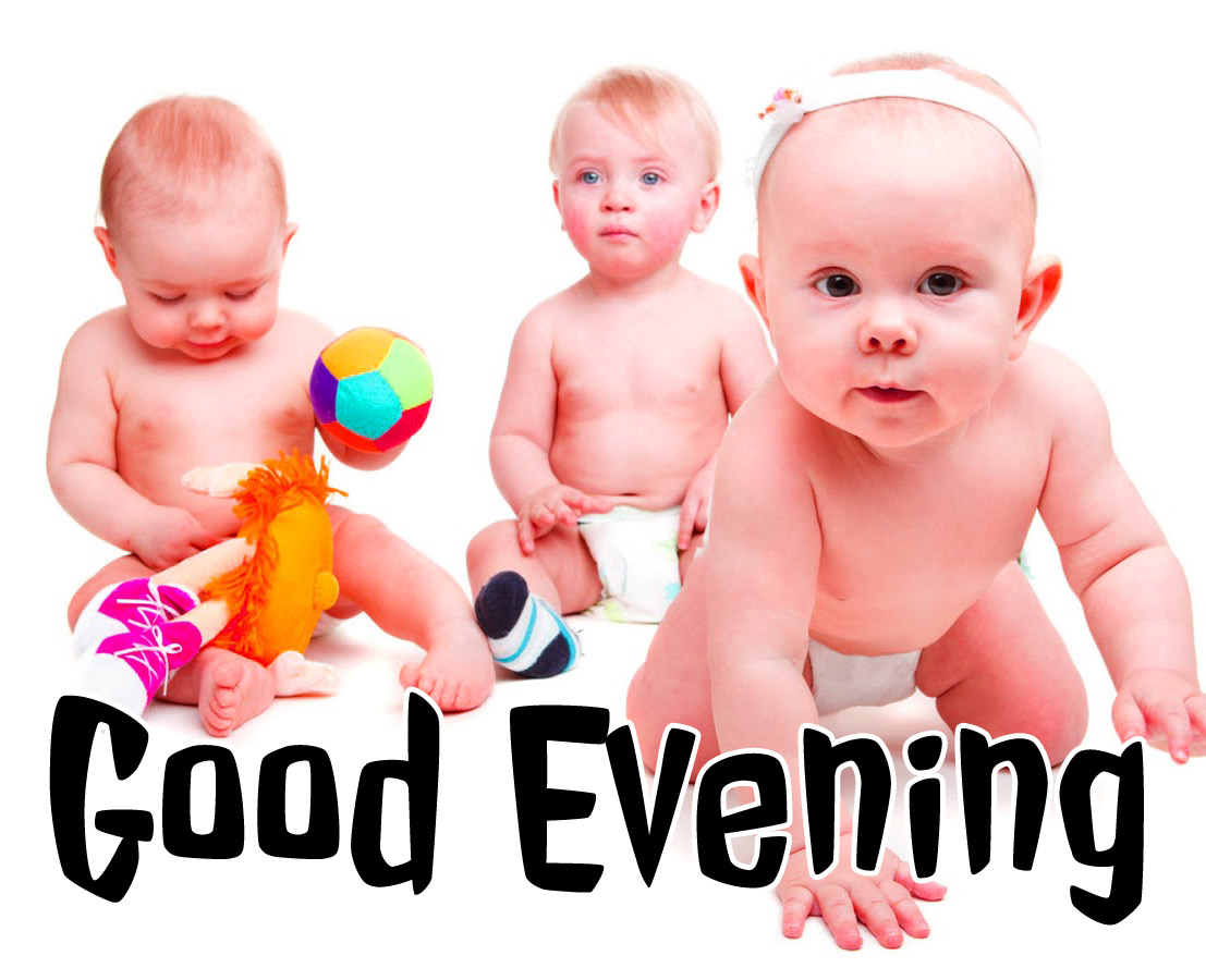 good evening images with cute baby 3