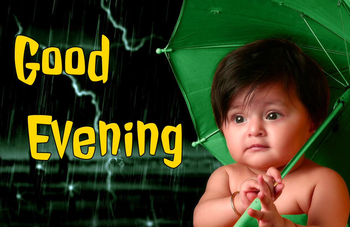 good evening images with cute baby 4