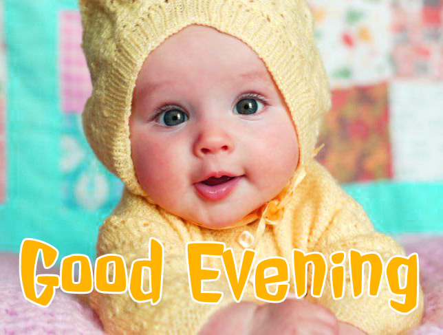 good evening images with cute baby 6