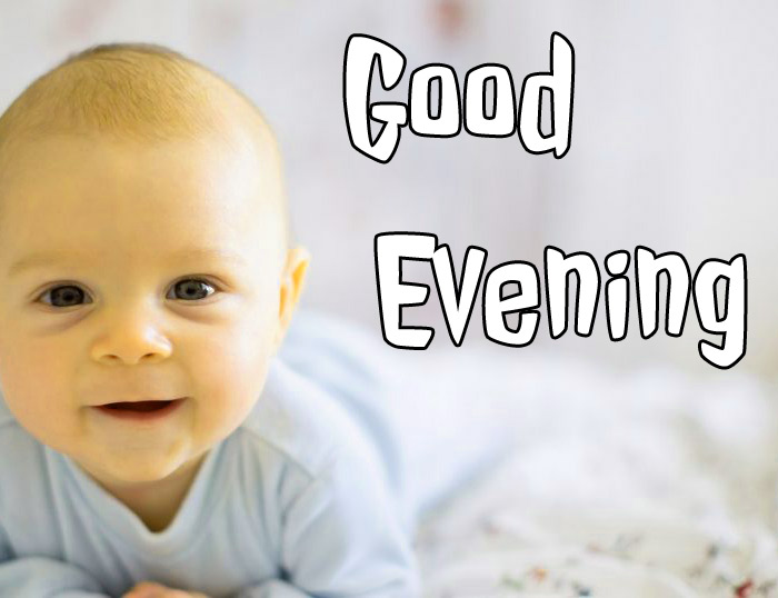 good evening images with cute baby 7