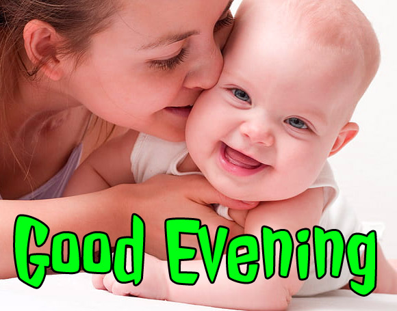 good evening images with cute baby 9