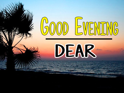 free Good Evening Wishes Wallpaper Download