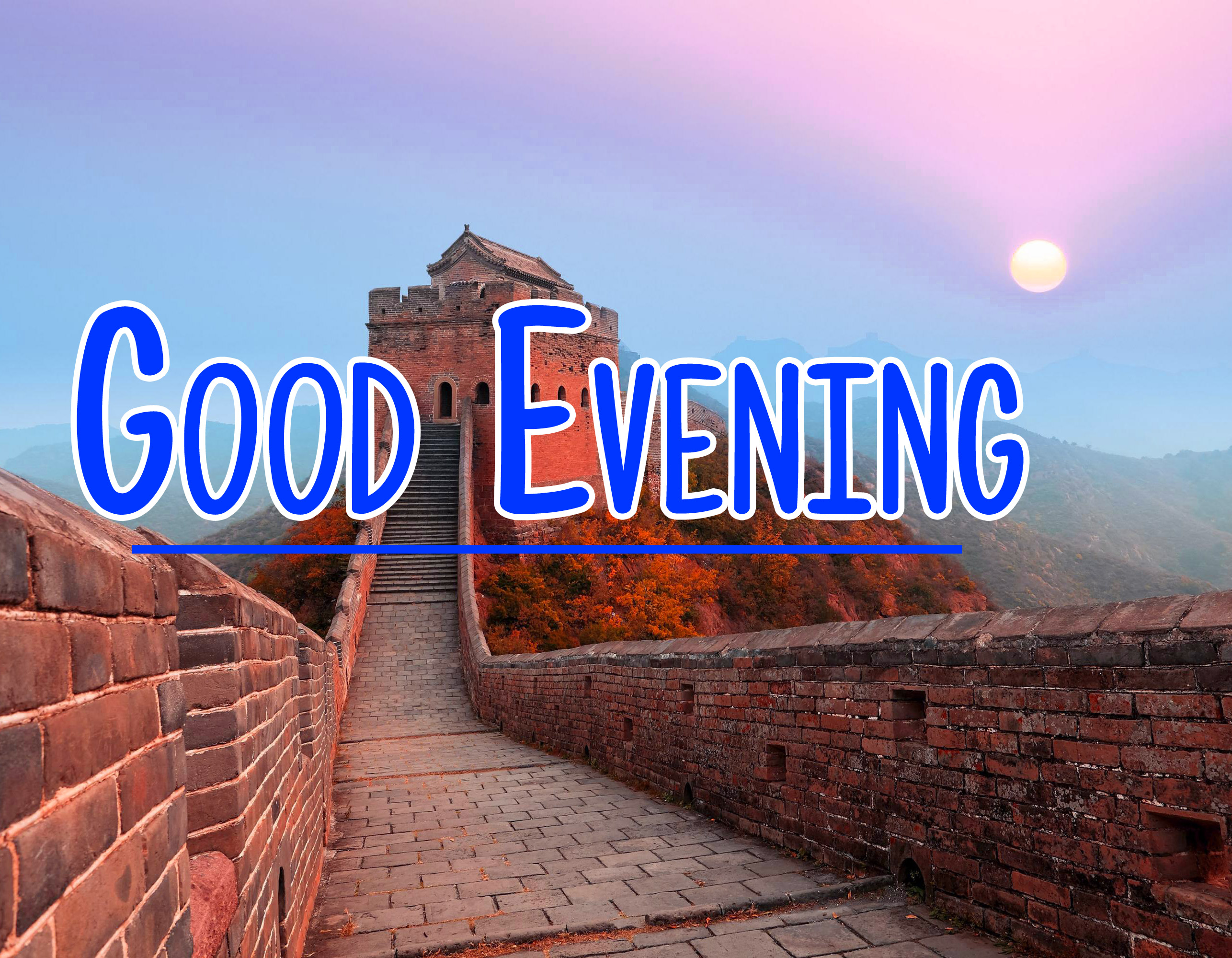 Good Evening Wishes Pics Free Download