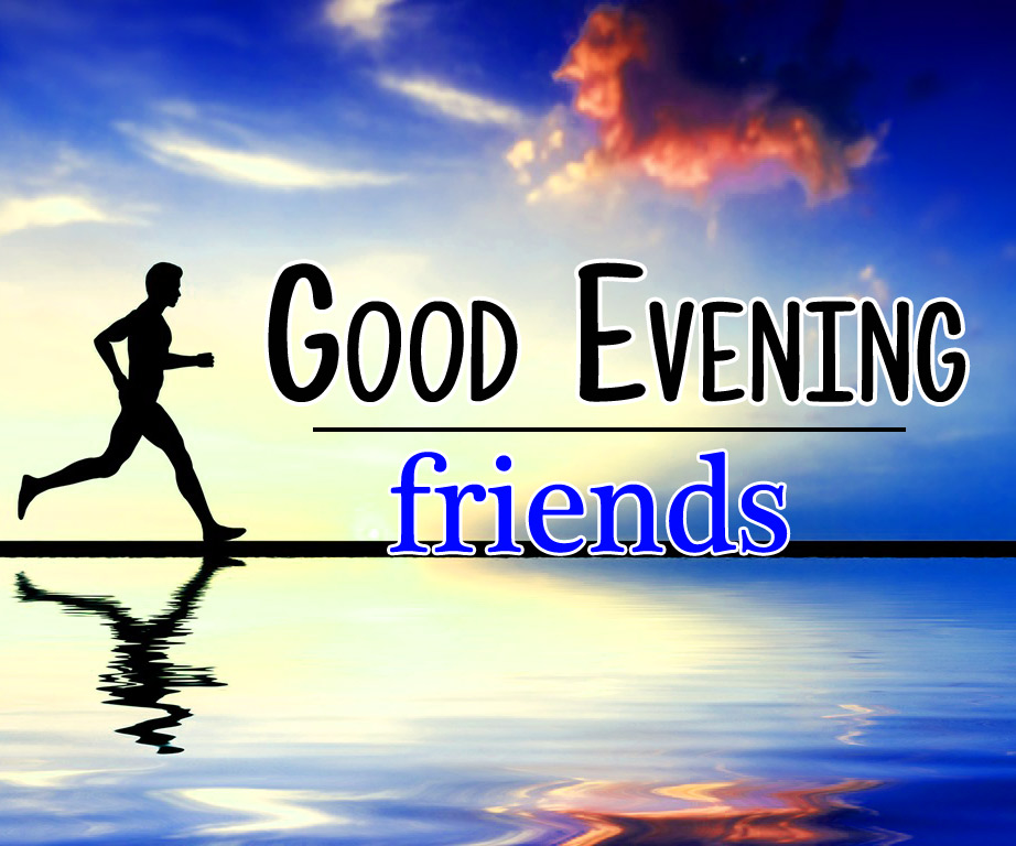 Good Evening Wishes Wallpaper Download for Friend