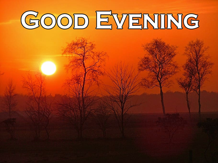 Good Evening Wishes Wallpaper Free Download