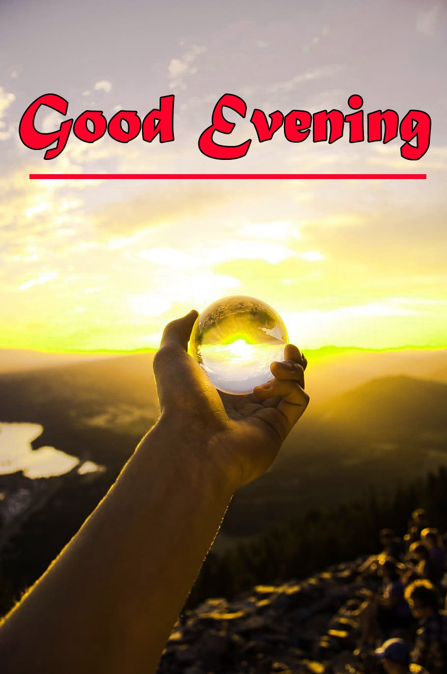 Good Evening Wishes Wallpaper for Whatsapp