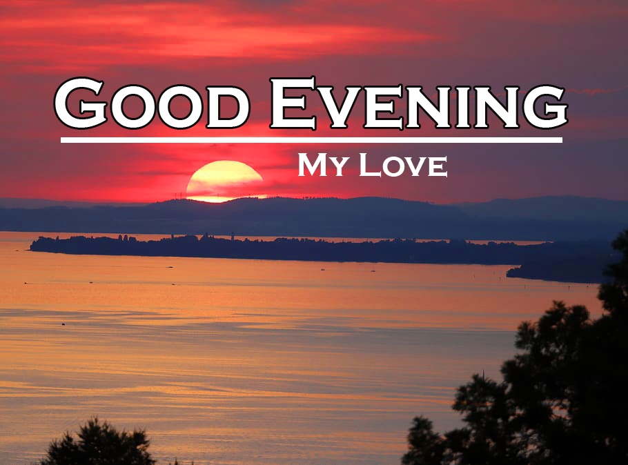 Good Evening Wishes Wallpaper HD Download