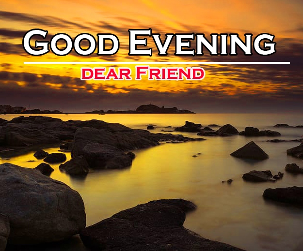 New Free Good Evening Wishes Pics Images Download for Friend