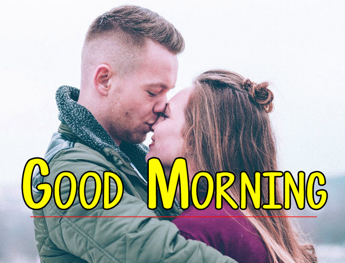 Husband Wife Romantic Good Morning photo Download