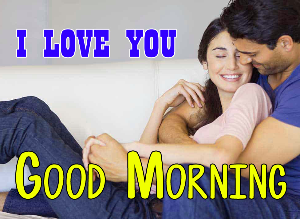 Husband Wife Romantic Good Morning Wallpaper HD