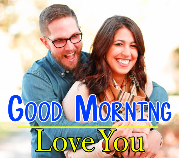 Sweet Husband Wife Romantic Good Morning pics Download