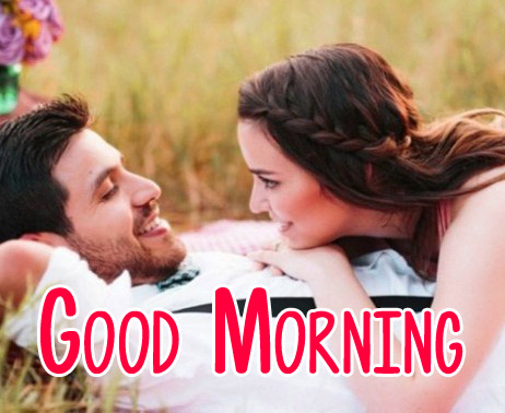 Husband Wife Romantic Good Morning Photo