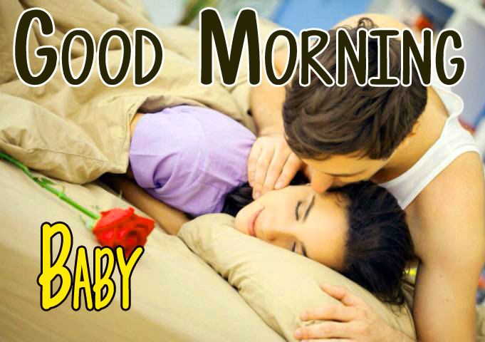 Husband Wife Romantic Good Morning Wallpaper Download