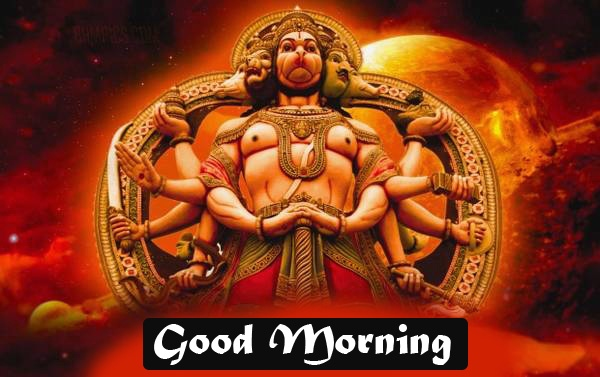god images hanuman good Morning Wallpaper Download