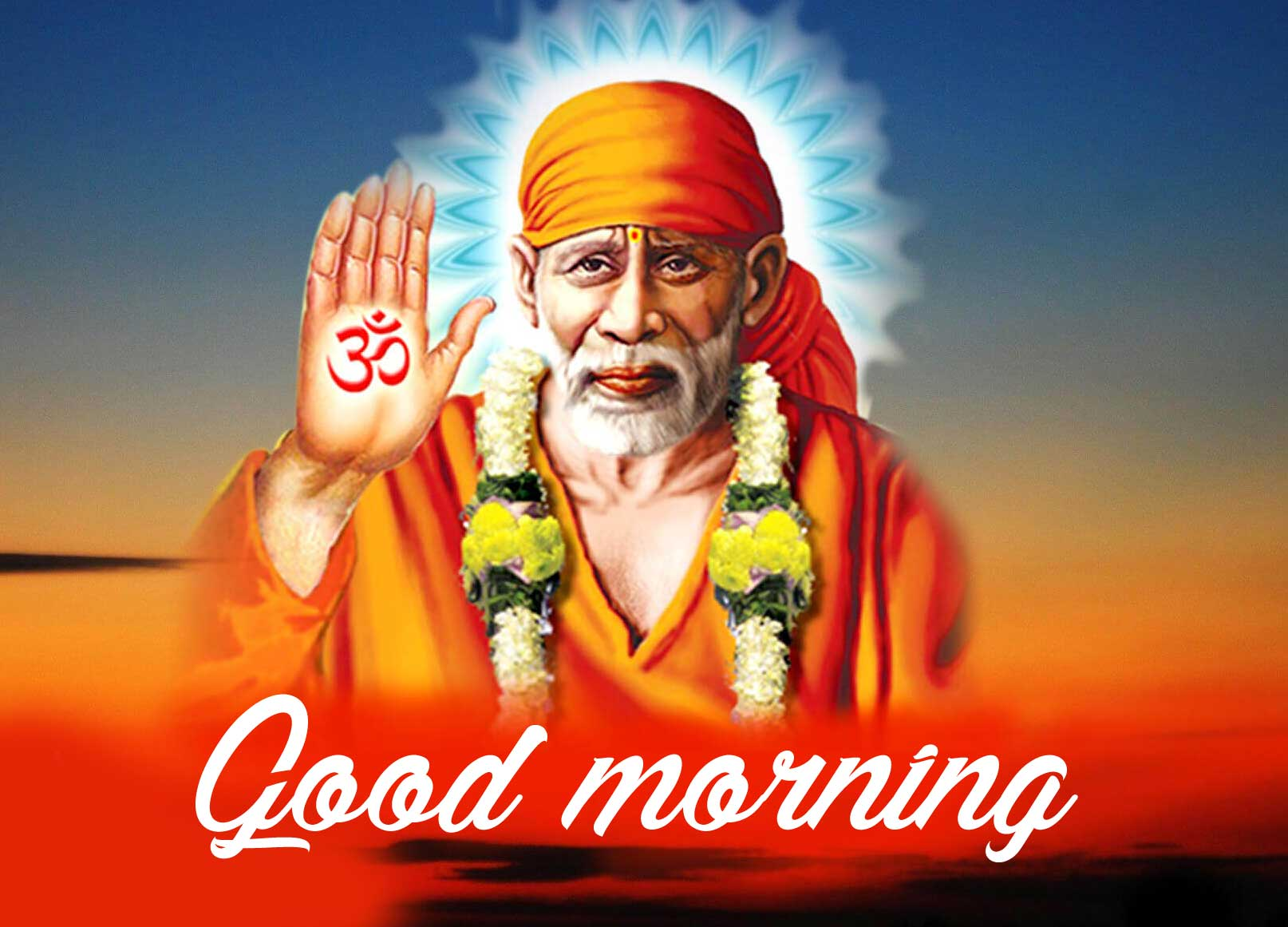 Sai Baba Good Morning Images for Best Friend