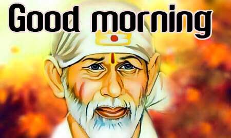 Sai Baba Good Morning images Download
