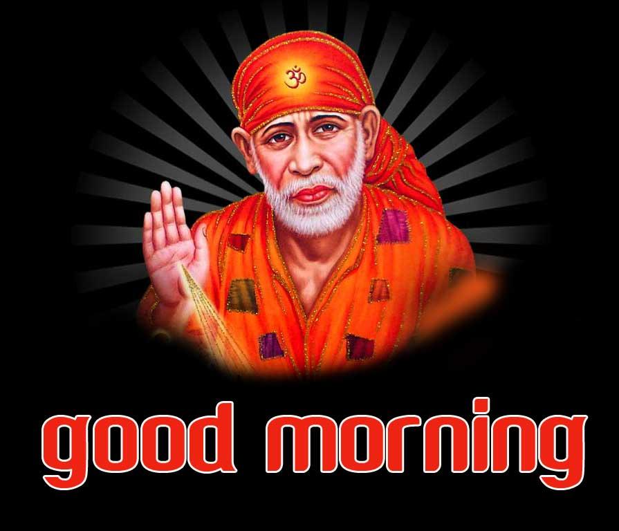 Sai Baba Good Morning Images Pic Wallpaper