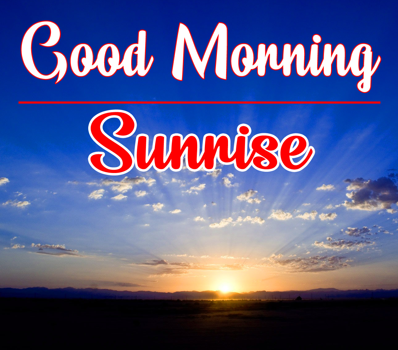sunrise good morning Photo Pics Download